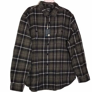 Grayers Heritage Flannel - Gray, Khaki, and White